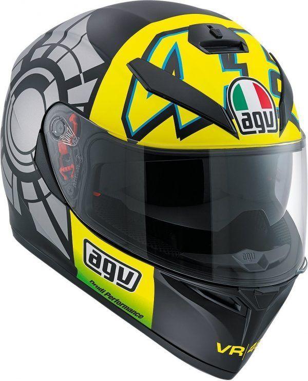 Cascos para moto - Integral - AGV K-3 SV Invierno test - cascos para motos deportivas
