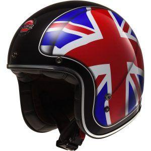 Cascos open face - LS2 Helmets Kurt Solid Bobber - Cascos para moto bobber