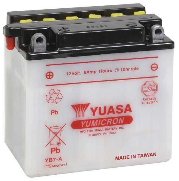 Yuasa YUAM227AY YB7-A Battery