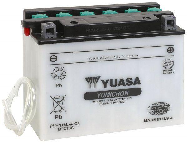 Yuasa yuam2218 °C y50 N18l-a-cx batería