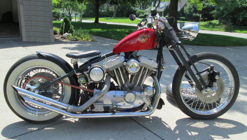 Motos modificadas bobber
