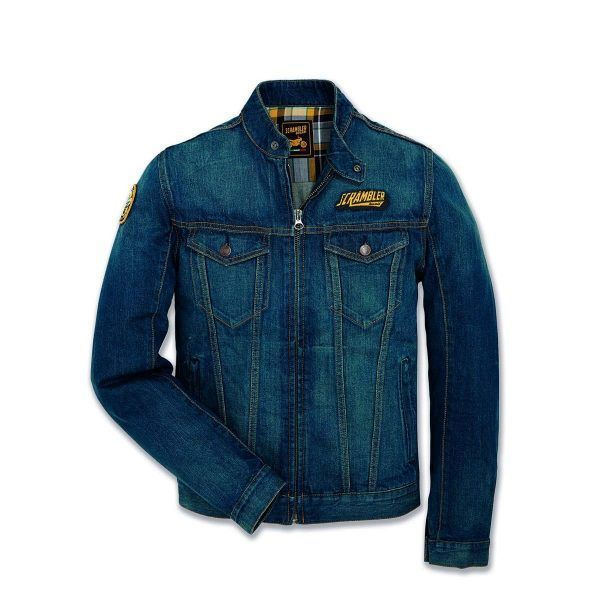 Ducati Trucker Patch Denim Jacket