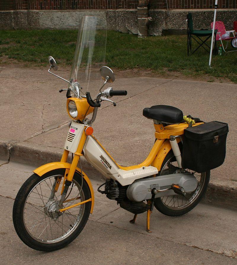 Tipos de motos - Ciclomotor