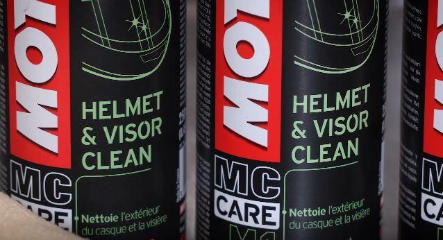productos especiales para limpiar cascos para moto
